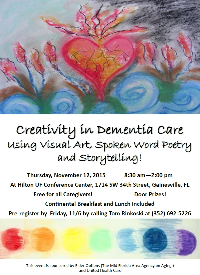 Creativity in Alzheimers and Dementia Care