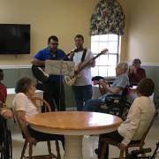 Music Enhances Life at Kiva Assisted Living - Palatka